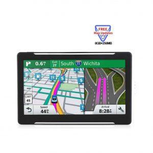 NAVRUF Car GPS 7 Inches HD Touchscreen