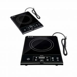 PRODUIT ROYAL 1800W Electric Digital Single Induction Hot Plate