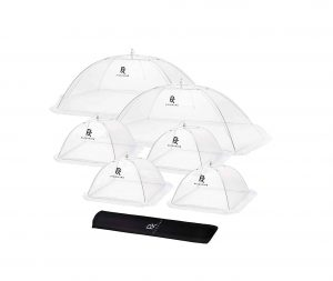 PicniKing Mesh Food Covers: Food Tents with Double Layer Skirt (6 Pack)