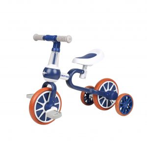 VOKUL 3 In 1 Baby Balance Bike with Detachable Pedals