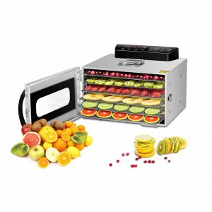 VVinRC Commercial Stainless Steel Food Dehydrator 400W
