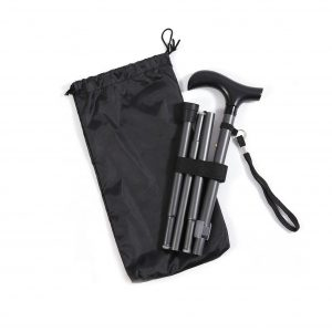 Ez2care Classy Adjustable Cane with a Carrying Case