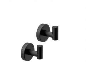 POKIM Matte Black Stainless Steel Hook Hangers
