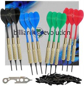 Billiard Evolution Set of 12 Soft Tip Darts