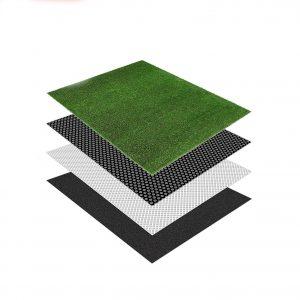 Color Tree Artificial Grass Mat