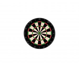 Hey! Play! TG Champion 18 x 1.5-Inches Bristle Dartboard
