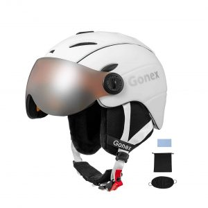 Gonex Ski Helmet with Goggles
