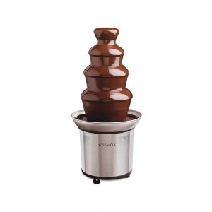 Nostalgia CFF986 Stainless Steel 32-Ounce Chocolate Cheese Fondue Fountain