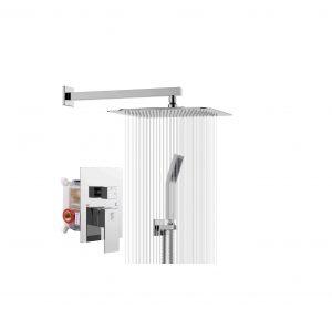 SR SUN RISE Wall Mounted SRSH-F5043 10 Inches Bathroom Shower Combo Set