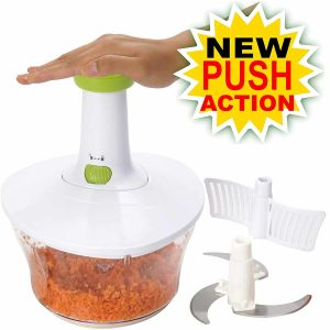 Brieftons Food Chopper, Quick and Powerful