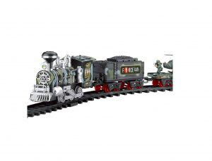 RC Military Train Toy Remote Control Train