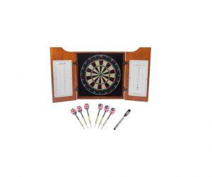 GSE Games & Sports Expert Bristle Dartboard Set
