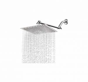 HarJue 12 inches High-Pressure Shower Head with Shower Arm