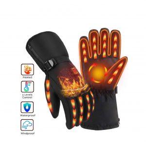 OYRGCIK Heated Gloves