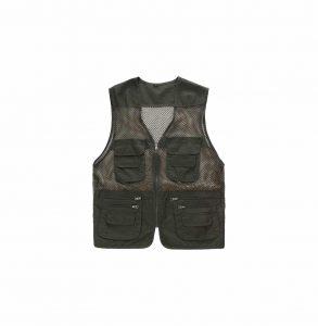 ZQXPP Men's Outdoor Multi-Pocket Fishing Vest