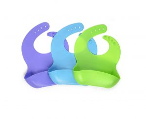 Comfortize Toddlers and Babies Silicone Bibs