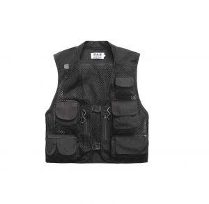 Lieshezhe Men Mesh Breathable Fishing Vest