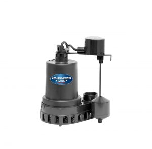 Superior Pump ½ HP Thermoplastic Submersible Water Pump