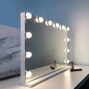 WAYKING Makeup Hollywood Lighted Vanity Mirror with Lights