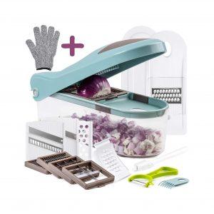 Braviloni Multiple Vegetable Chopper- Non – BPA Kitchen Gadgets