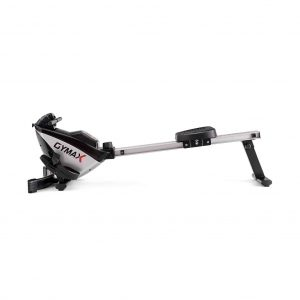 GYMAX Magnetic 8-Level Folding Magnetic Rower Machine
