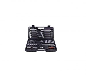 Metrinch 62 Pc Combo Spanner Socket Wrench Set