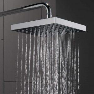 Delta Faucet Touch-Clean Single-Spray Rain Shower Head