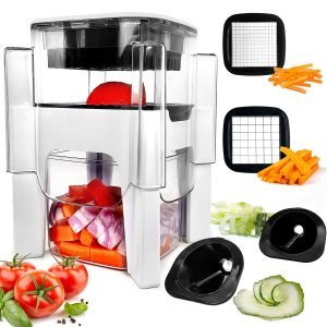 Fun Life Vegetable Chopper for Onion, Garlic, and others