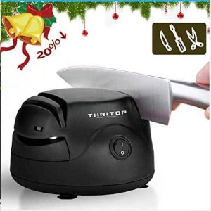 THRITOP 3 in 1 Knife Sharpener Tool for Screwdrivers, Knives, and Scissors