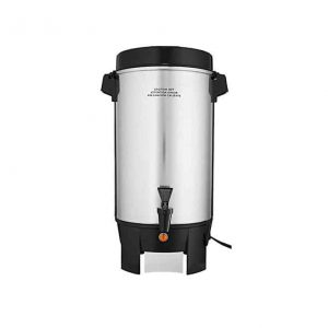 FOCUS FOODSERVICE 42-Cup Polished Aluminum Coffee Urn