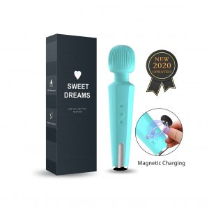 Feeke Upgraded 20 Magic Vibration Modes Personal Wand Massager