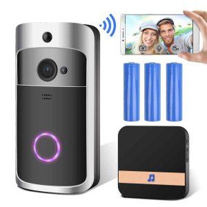 GEMWON Smart Wireless Video Doorbell with PIR Motion Detection