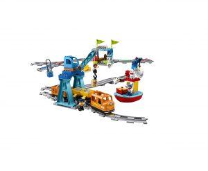 LEGO DUPLO Cargo Train Building Blocks Set