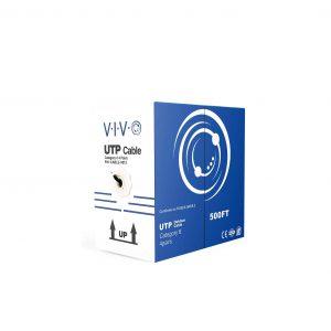 VIVO Black 500FT Bulk Cat6 Cable