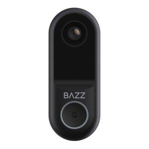 BAZZ WFDBELL1 Alexa Compatible Smart Home HD Camera Wi-Fi Doorbell