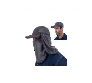 USHAKE Sun Cap Fishing Hat Quick-Dry Mask