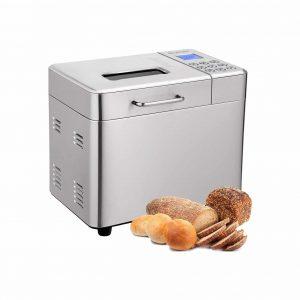 COSTWAY 2LB 15 Programmable 3 Loaf Sizes 600W Bread Maker