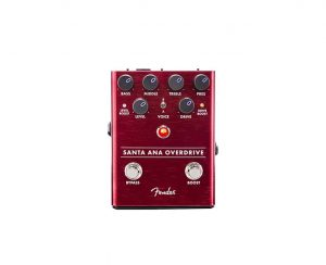 Fender Santa Ana Overdrive Guitar Pedal with Cables (Beginner Bundle)