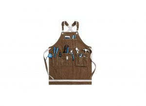 Jeanerlor Washed Shop Heavy-Duty Waxed Apron