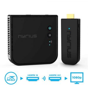 Nyrius Aries Pro Wireless HDMI Transmitter and Receive
