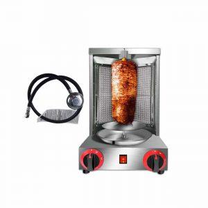 Zz Pro Shawarma Doner Kebab 2 Burner Rotisserie