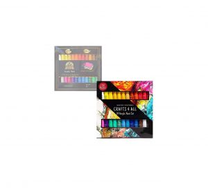 Crafts 4 All Set off 24 Vibrant Non-Toxic Acrylic Paints