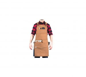 Hudson Durable Goods Waxed Canvas Apron Woodworking Edition