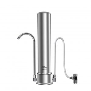 JONYJ Countertop 304-Stainless Steel Water Filter