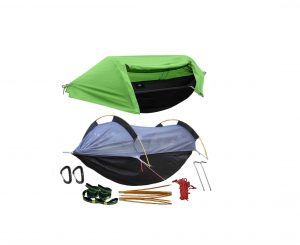 WintMing Camping Hammock with a Mosquito Net