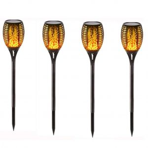 ChYoung 4 Pack Solar Lights