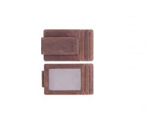 Amelleon Men's Leather RFID Money Clip Wallet