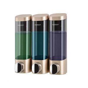 Bosharon Shower 3 Chamber Soap Dispensers