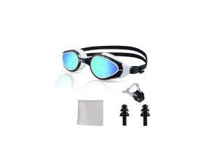 PHELRENA Swim Electroplated Swimming Goggles
