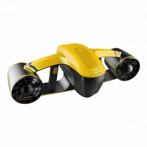 AMGJK Underwater Scooter with Camera Mount, Yellow